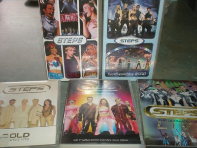 Steps videos and DVDs