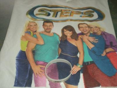 Steps tour merchandise