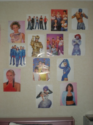 Steps poster wall
