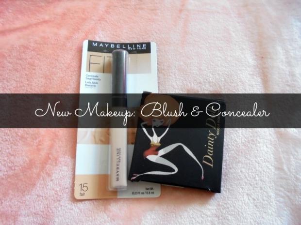 New Makeup: Blush & Concealer