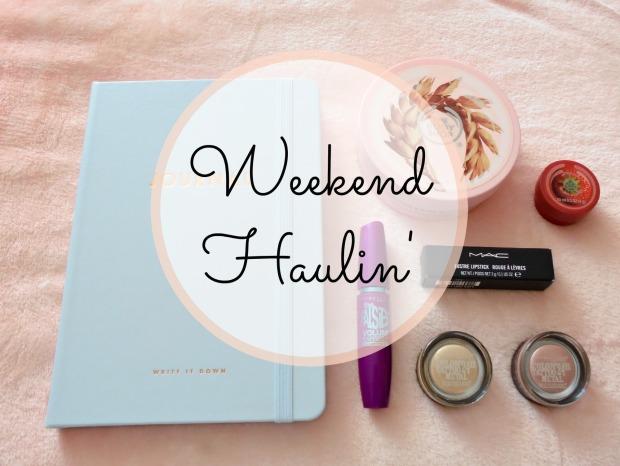 Weekend Haulin'