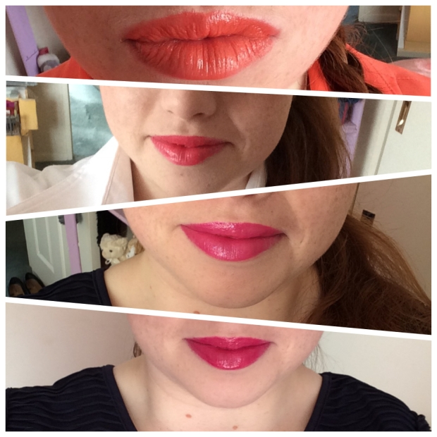Lip Butter Swatches