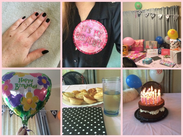 21st Birthday Collage
