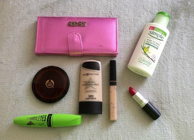 21st Makeup Menu