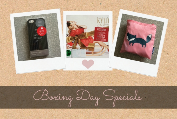 Boxing Day Specials