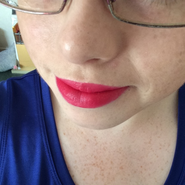 MAC All Fired Up Lip Swatch