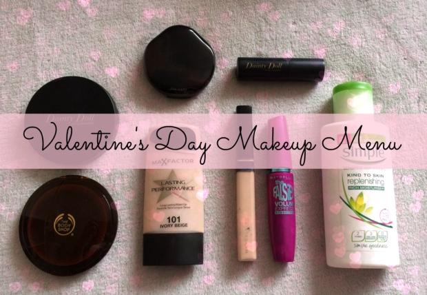 Valentine's Day Makeup Menu