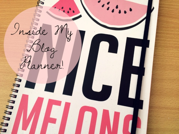 Inside My Blog Planner!