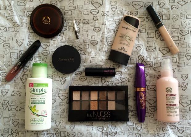 Vanessa White Makeup Menu
