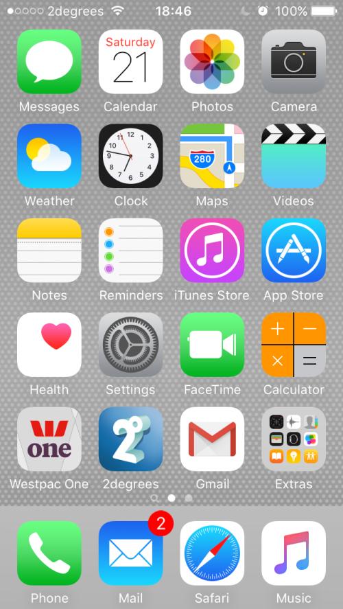 iPhone Screen 1