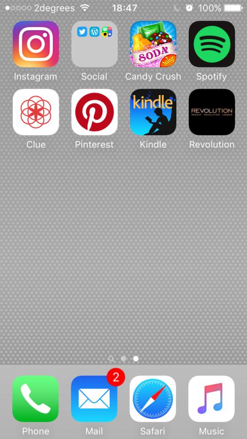 iPhone Screen 2