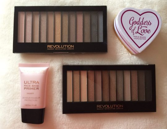 Makeup Revolution Items