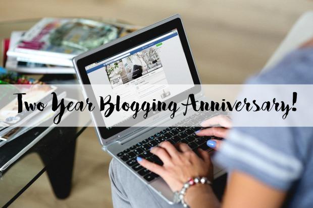 Two Year Blogging Anniversary!