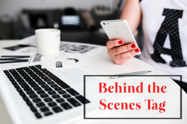 Behind the Scenes Tag