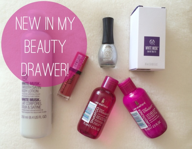 New In My Beauty Drawer!