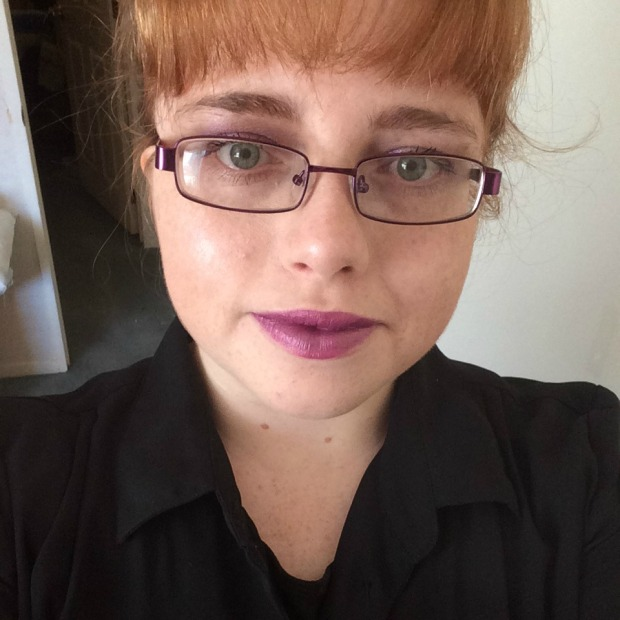 Finished Purple Makeup