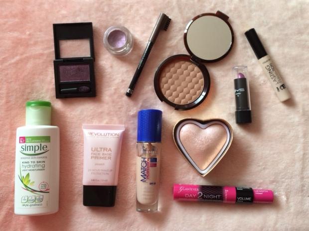 The Purple Makeup Menu Products