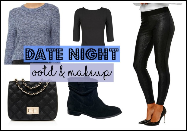 Date Night OOTD & Makeup