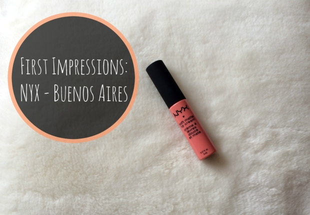 First Impressions NYX - Buenos Aires